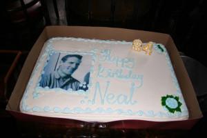 Birthday Cake at 2010 Bash